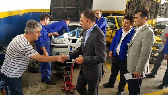 نظارت مدیران ایساکو برارائه خدمات به مسافران تعطیلات تابستانی