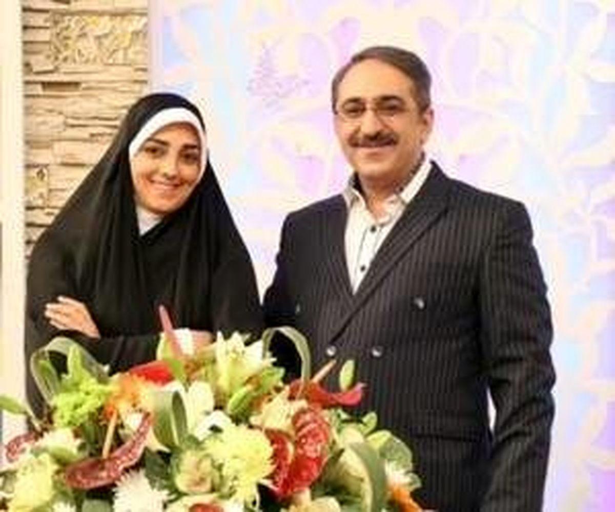 اختلاف سنی ۱۴ ساله مجری تلویزیون و همسرش