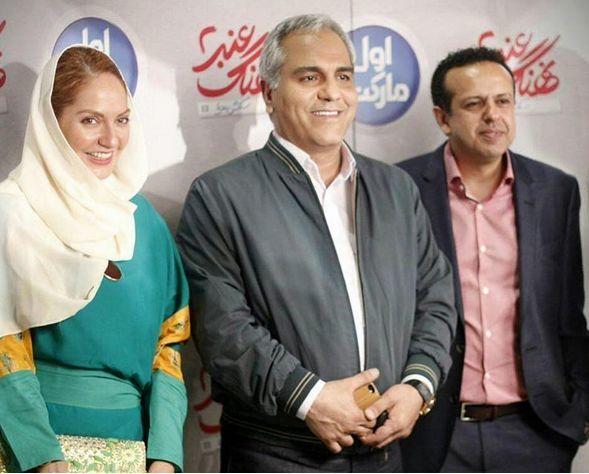 Image result for مهران مدیری و مهناز افشار