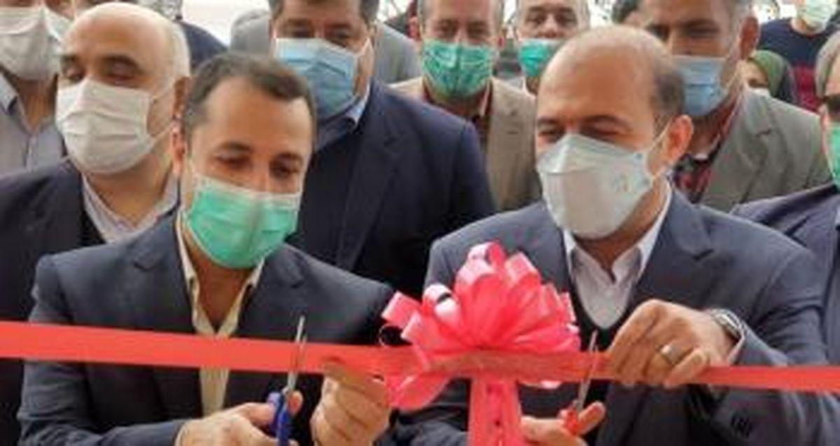 افتتاح ساختمان جدید شعبه بانک توسعه صادرات در کاشان