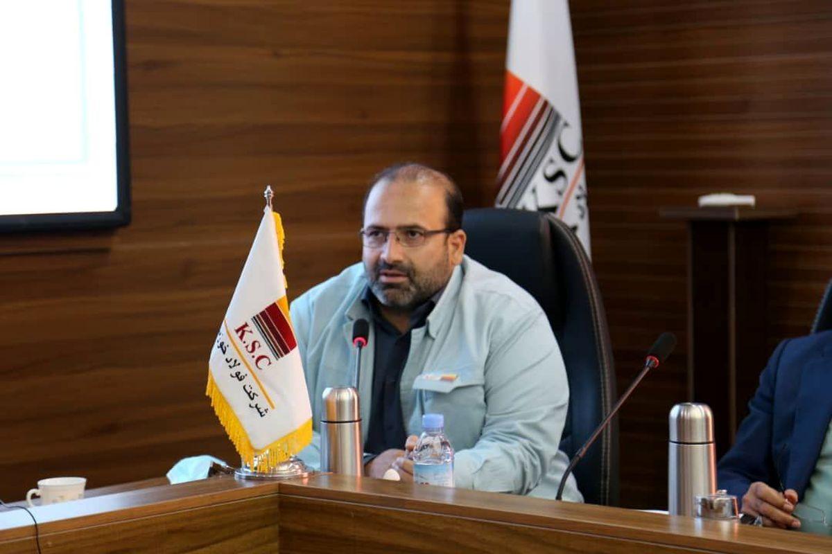 برنامه افزایش سه برابری سرمایه فولاد خوزستان