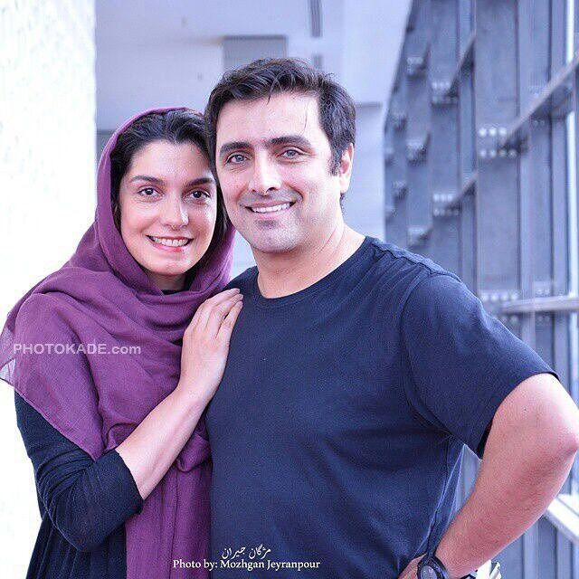 عکس امین زندگانی و همسرش الیکا عبدالرزاقی + بیوگرافی
