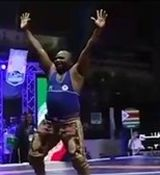 شادی عجیب کشتیگیر زیمبابوهای در بجنورد + فیلم