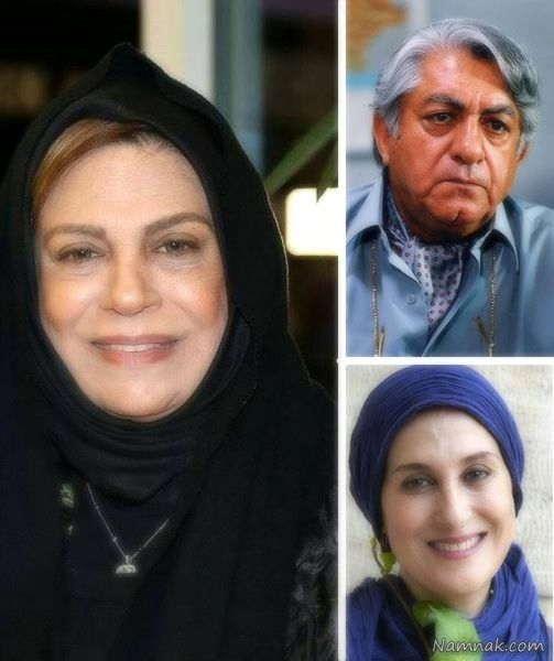 بازیگران مورد علاقه ی الهام حمیدی