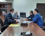 نشست مدیرعامل شرکت معدنی و صنعتی چادرملو با رئیس اداره کل صنایع استان یزد
