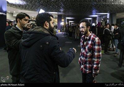 مصاحبه با بهمن ارک کارگردان در هفتمین روز سی و هشتمین جشنواره فیلم فجر در پردیس چارسو