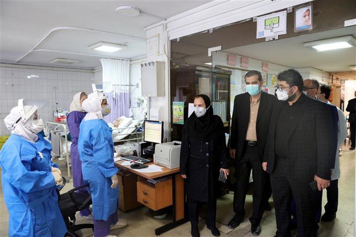 بازدید سرپرست سازمان تامین اجتماعی از بیمارستان شهید فیاض بخش