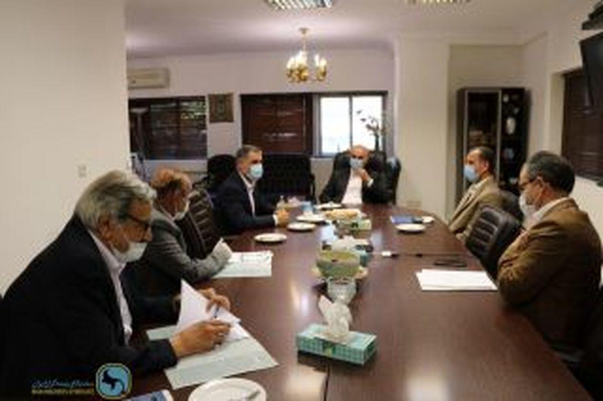 پیگیری مباحث شرکتهای بیمه در مناطق آزاد توسط سندیکای بیمه گران ایران