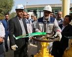 افتتاح خط لوله انتقال سوخت نیروگاه برق خارگ