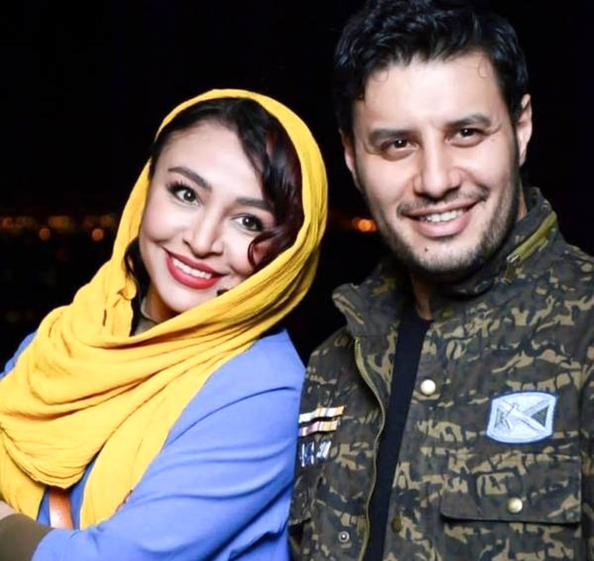 لاکچری بازی جواد عزتی و همسرش روی دریا + عکس