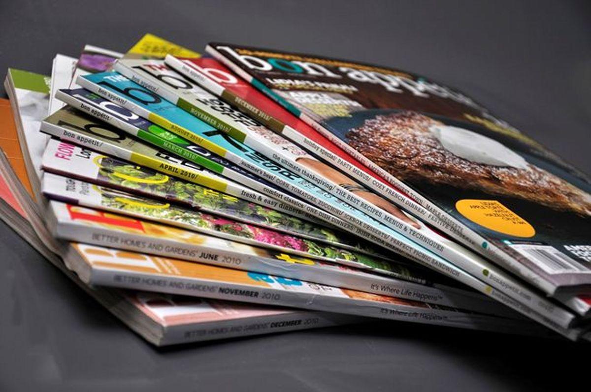 ایده برای طراحی مجله