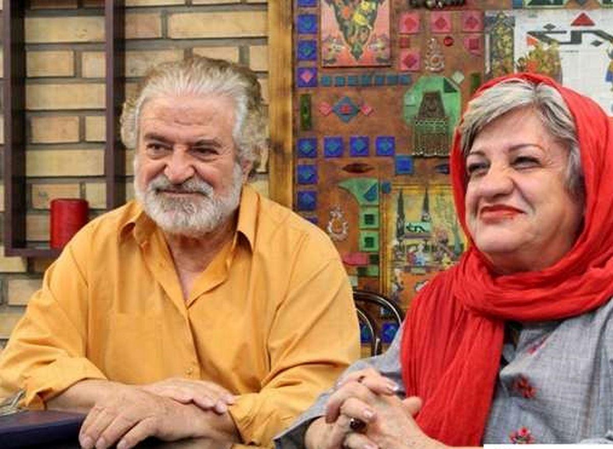 عکس جگرسوز کاظم هژیرآزاد بر سر مزار پسرش | عکس پسر کاظم هژیرآزاد
