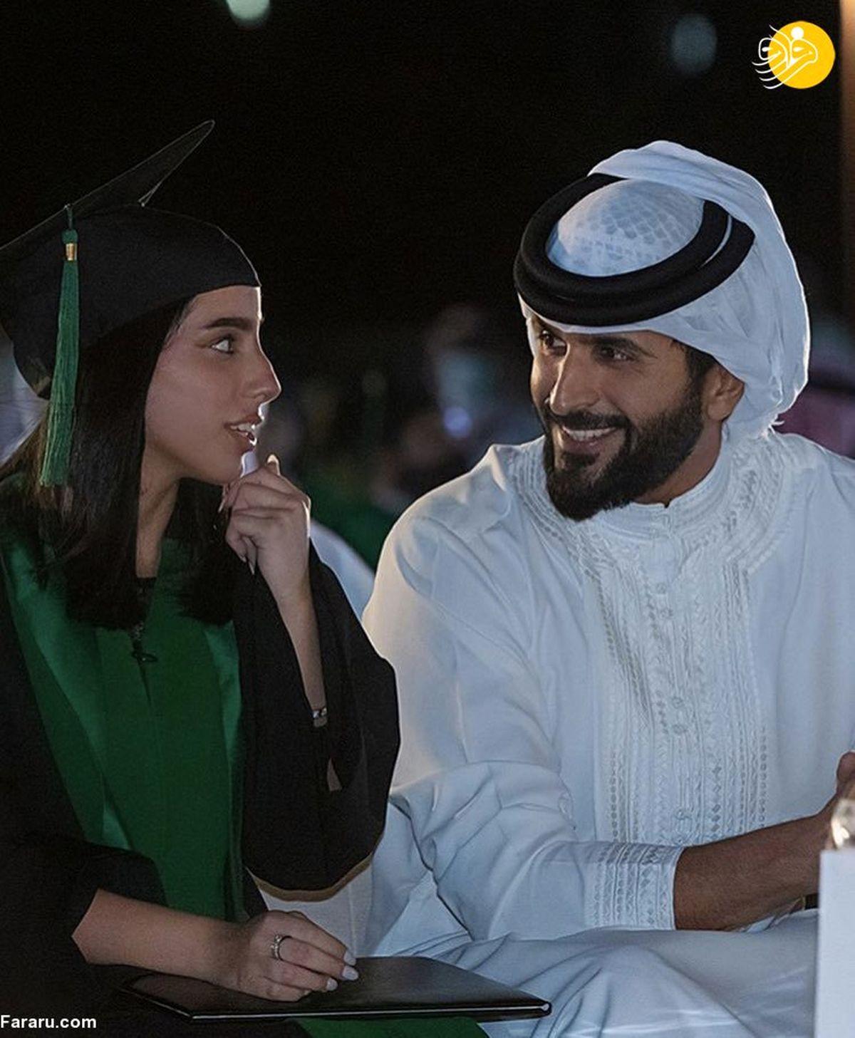 اولین تصاویر از دختر پادشاه بحرین +عکس