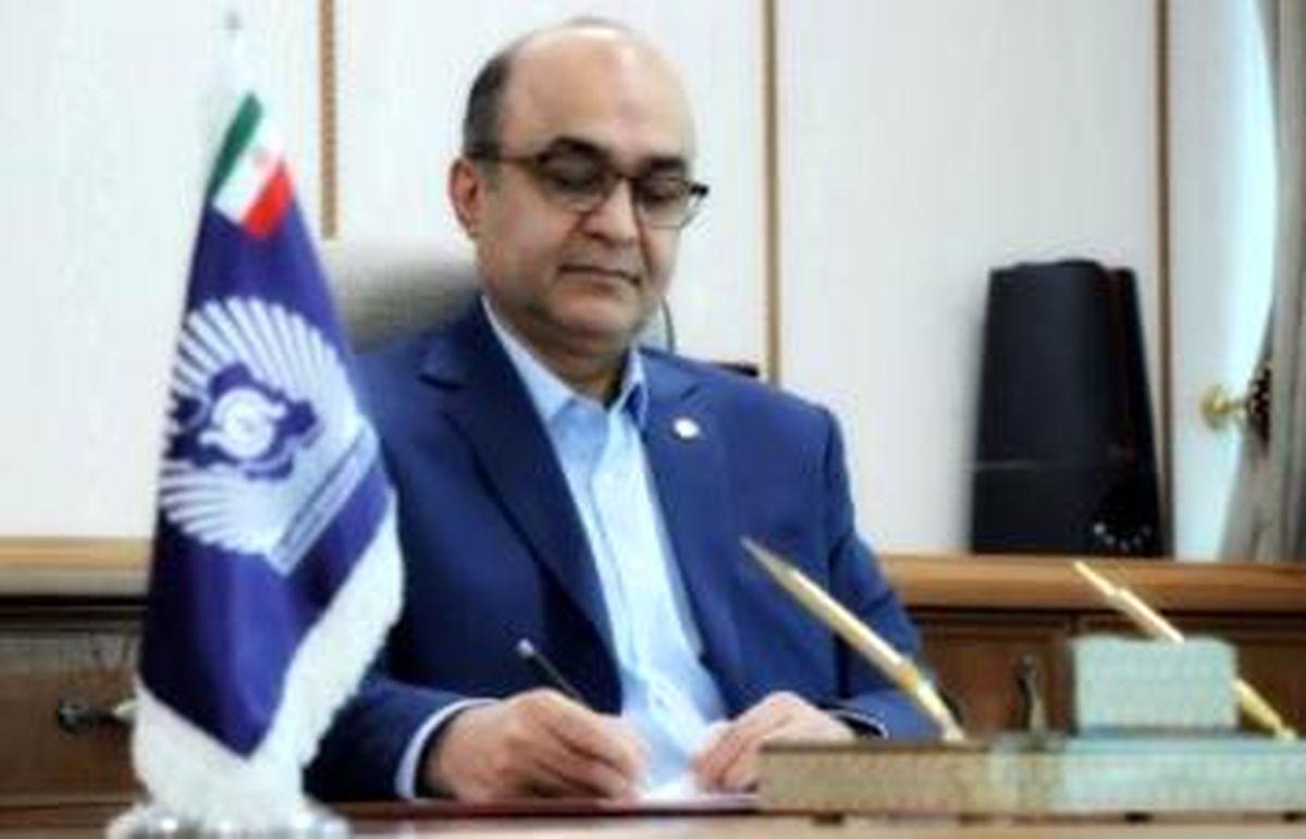 پیام تبریک مدیر عامل بانک تجارت بمناسبت 22 بهمن