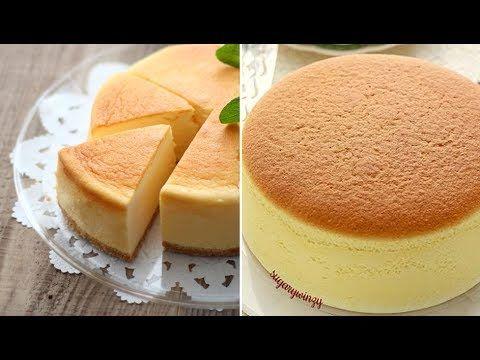 طرز تهیه چیزکیک ژاپنی یا کیک پنیر پنبه ای (کیک پنبه ای)