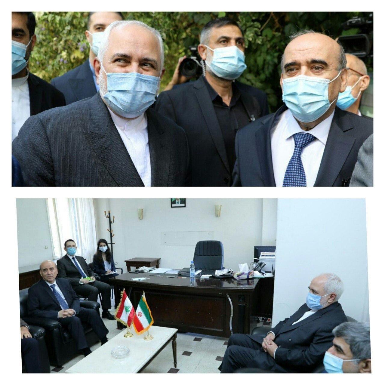 ظریف: هیچ طرف خارجی نباید از مشکلات لبنان سوءاستفاده کند/ شربل وهبه: ایران حامی لبنان است