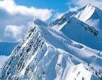 برف ارتفاعات خوزستان را سفیدپوش میکند
