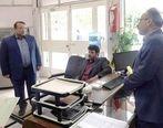 بازدید رئیس هیات مدیره بانک قرض الحسنه مهر ایران از شعب استان گلستان