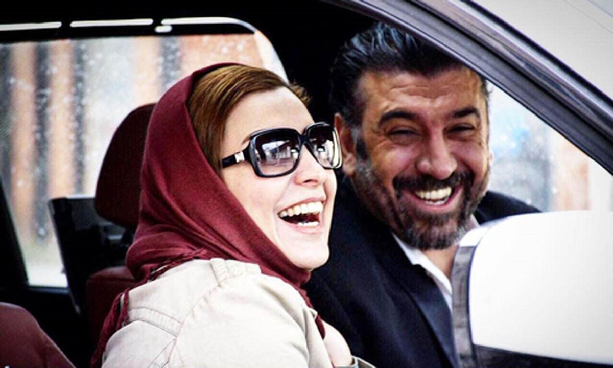 ویدیو جنجالی و لورفته از دستگیری علی انصاریان و دوست دخترش + فیلم