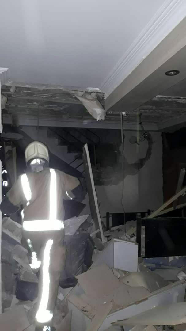 انفجار شدید یک واحد مسکونی در محله کمیل تهران + تصاویر