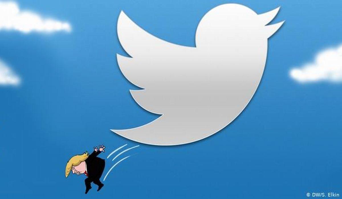 اقدام جنجالی توییتر در واکنش به توییت ترامپ