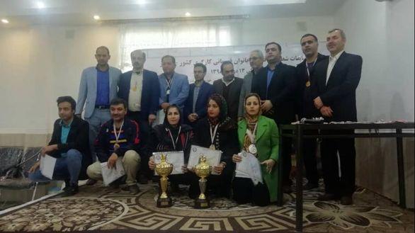 پیروزی شطرنج بازان فولاد اکسین در مسابقات شطرنج قهرمانی کارگری کشور