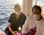 ابراهیم تاتلیس برای بار پنجم ازدواج کرد + عکس
