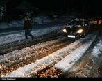 مسافران محور بجنورد به آشخانه در برف حاصره شدند