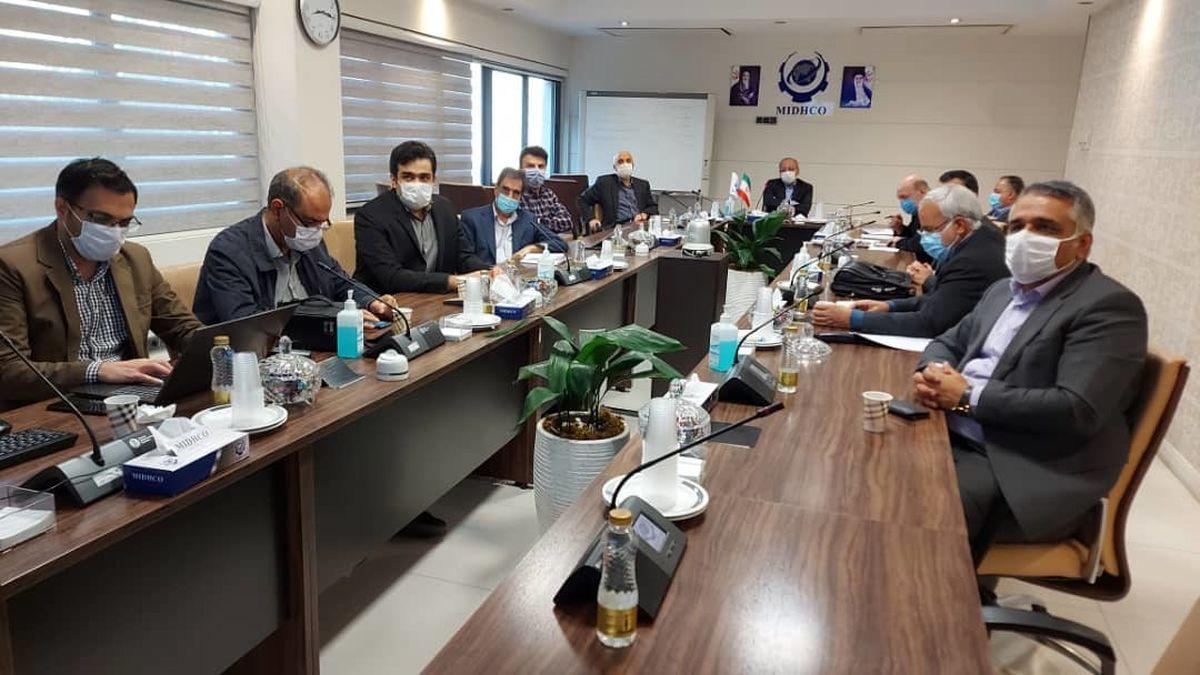 یکصد و سی و هشتمین جلسه تولید شرکت میدکو برگزار شد