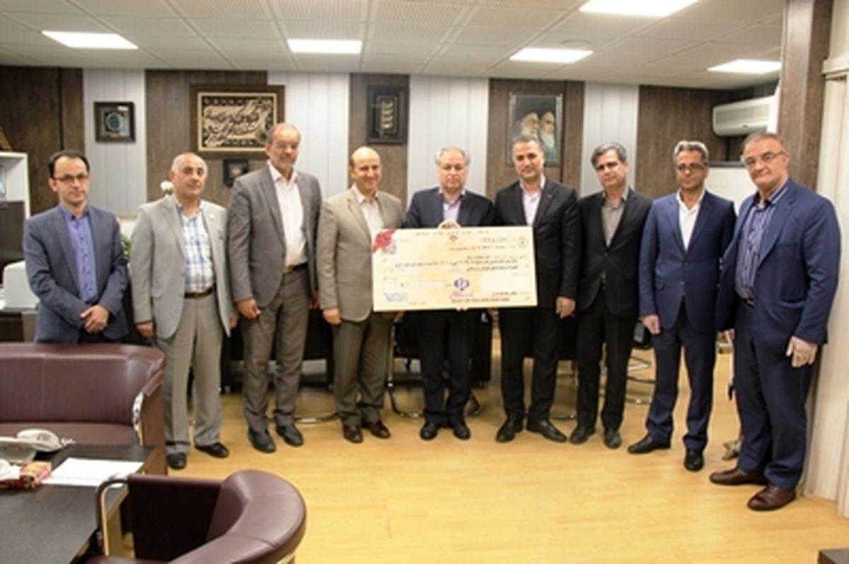 تجهیز بخش سرطانی بیمارستان امام خمینی (ره) با حمایت مالی بانک رفاه