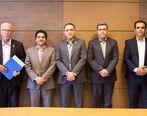 امضای تفاهمنامه همکاری میان باشگاه سپیدرود رشت و ایران کیش