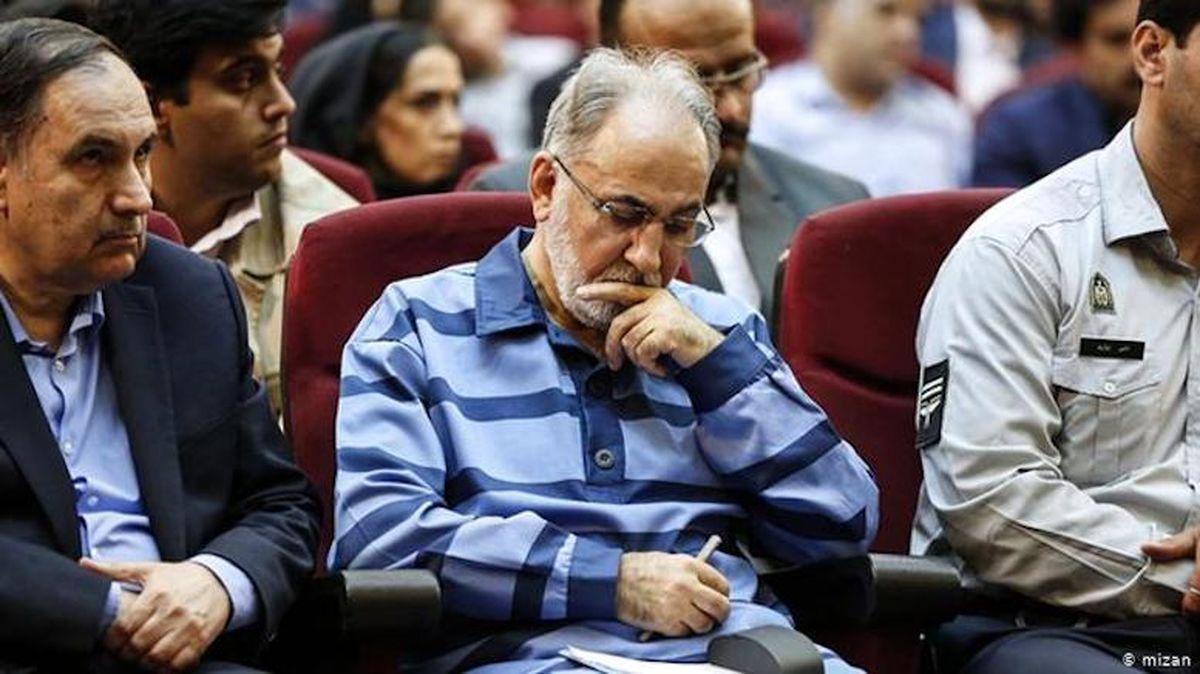 صدور حکم حبس درازمدت برای نجفی