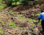 رانش زمین در گیلان / گزارش تصویری