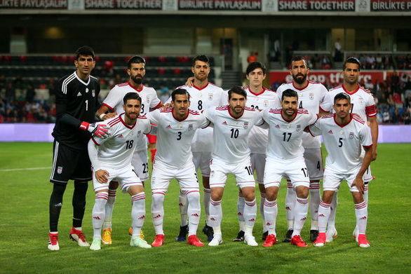 ساعت بازی ایران و فلسطین