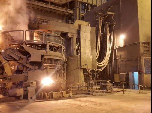 دریچههای تخلیۀ غبار کورههای قوس مجتمع فولاد سبا اتوماتیک شد