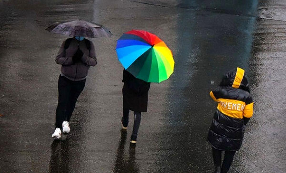 بارش باران در ۱۰ استان کشور