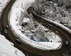 ترافیک روان در محورهای شمال و باران در آزادراه قزوین-رشت/کندوان یکطرفه میشود