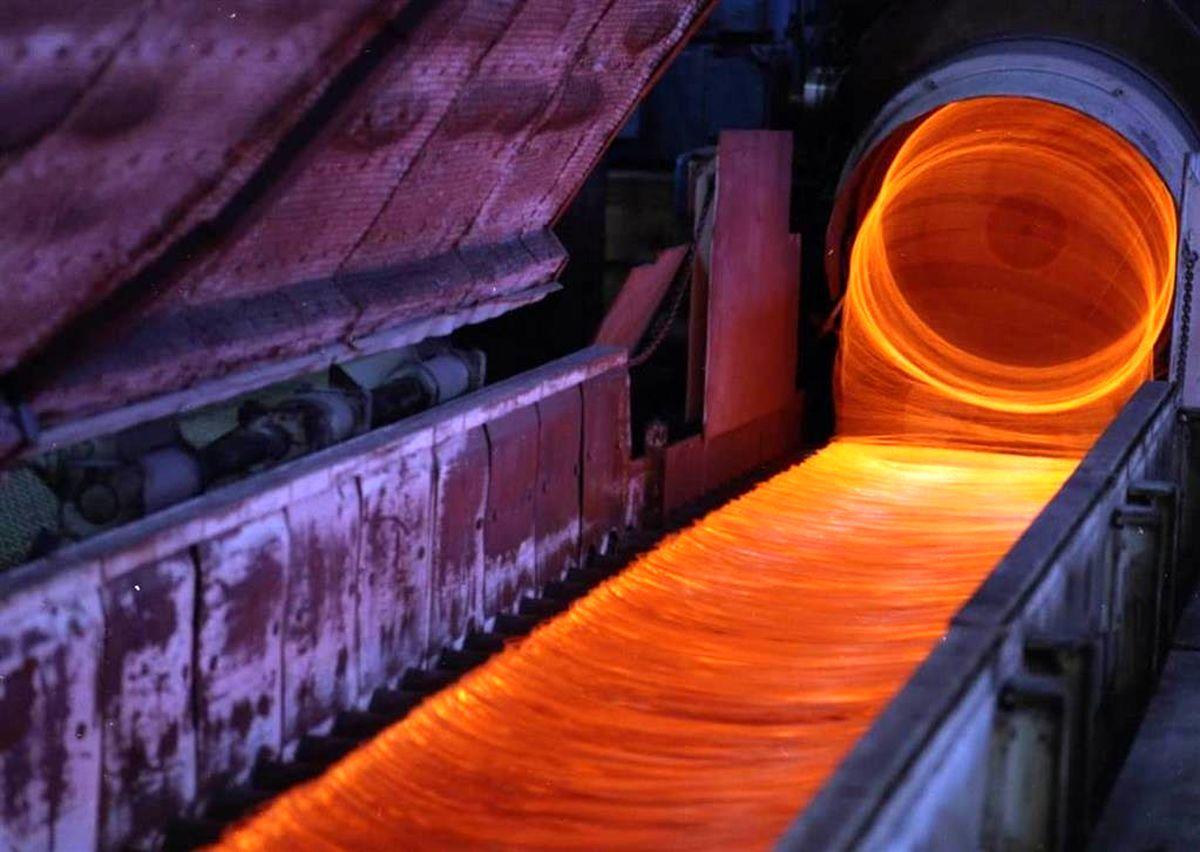 رکورد تولید ۲۵ ساله کلاف در ذوب آهن اصفهان،شکسته شد
