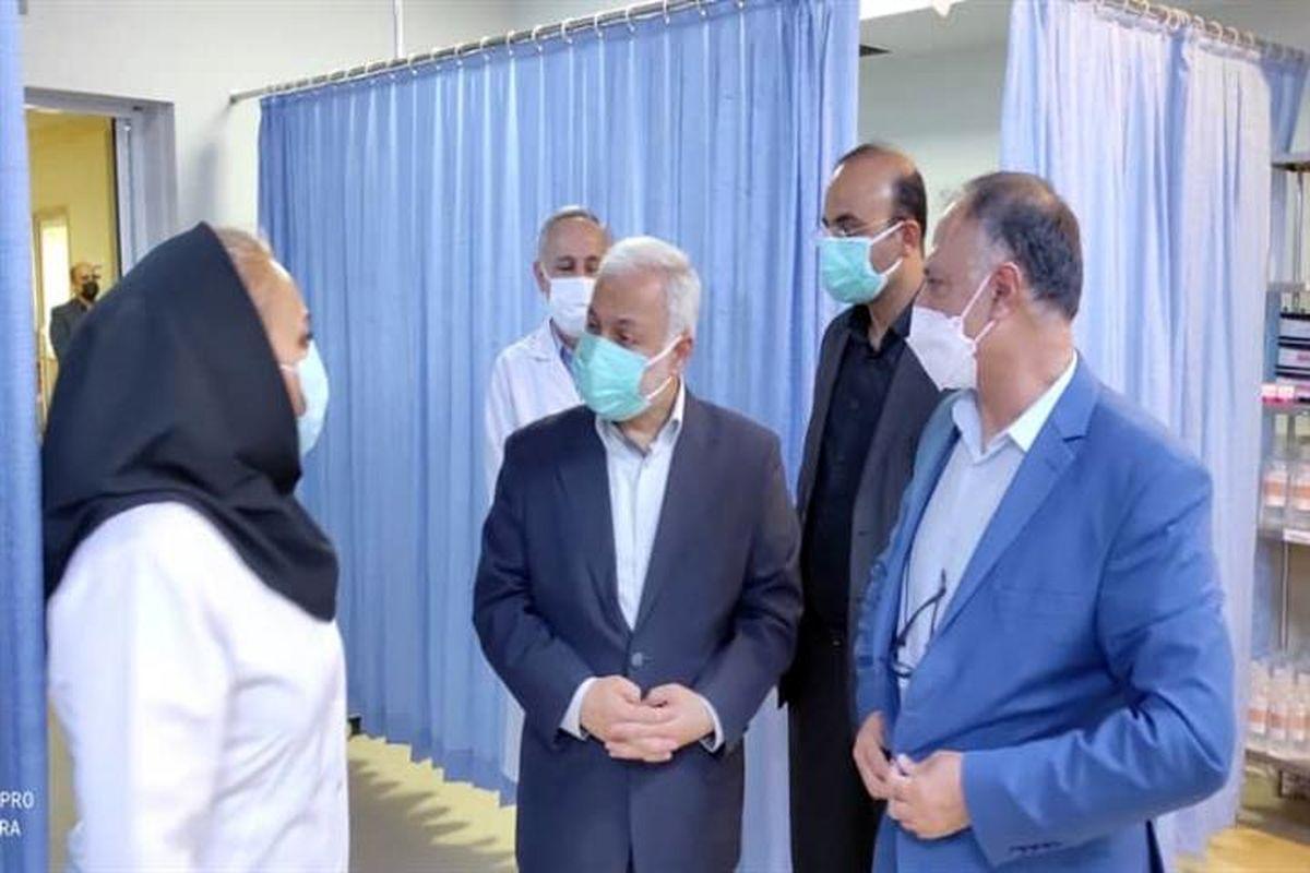 اختصاص 50 درصد از تختهای بیمارستان تامین اجتماعی ارومیه به بیماران کرونایی