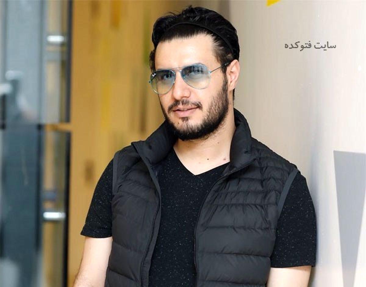 سلفی دیده نشده از جواد عزتی در پشت صحنه «زخم کاری»