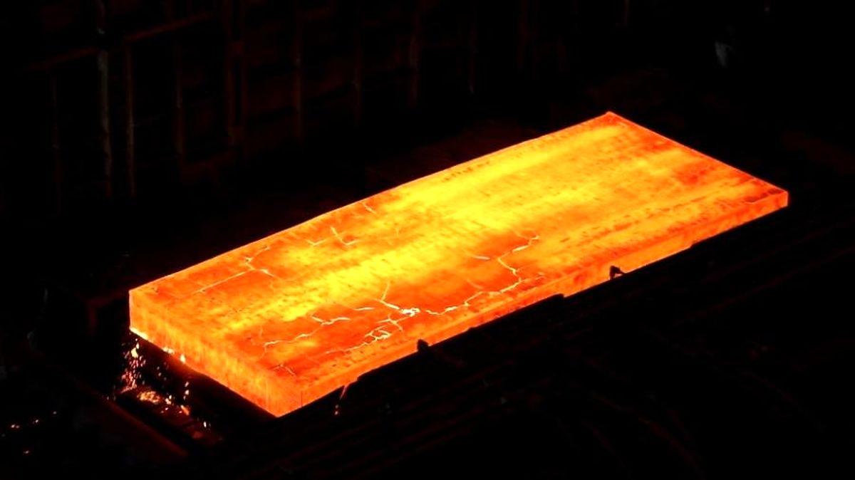 بزرگترین و مقاومترین ورق فولادی ایران در فولاد اکسین تولید شد