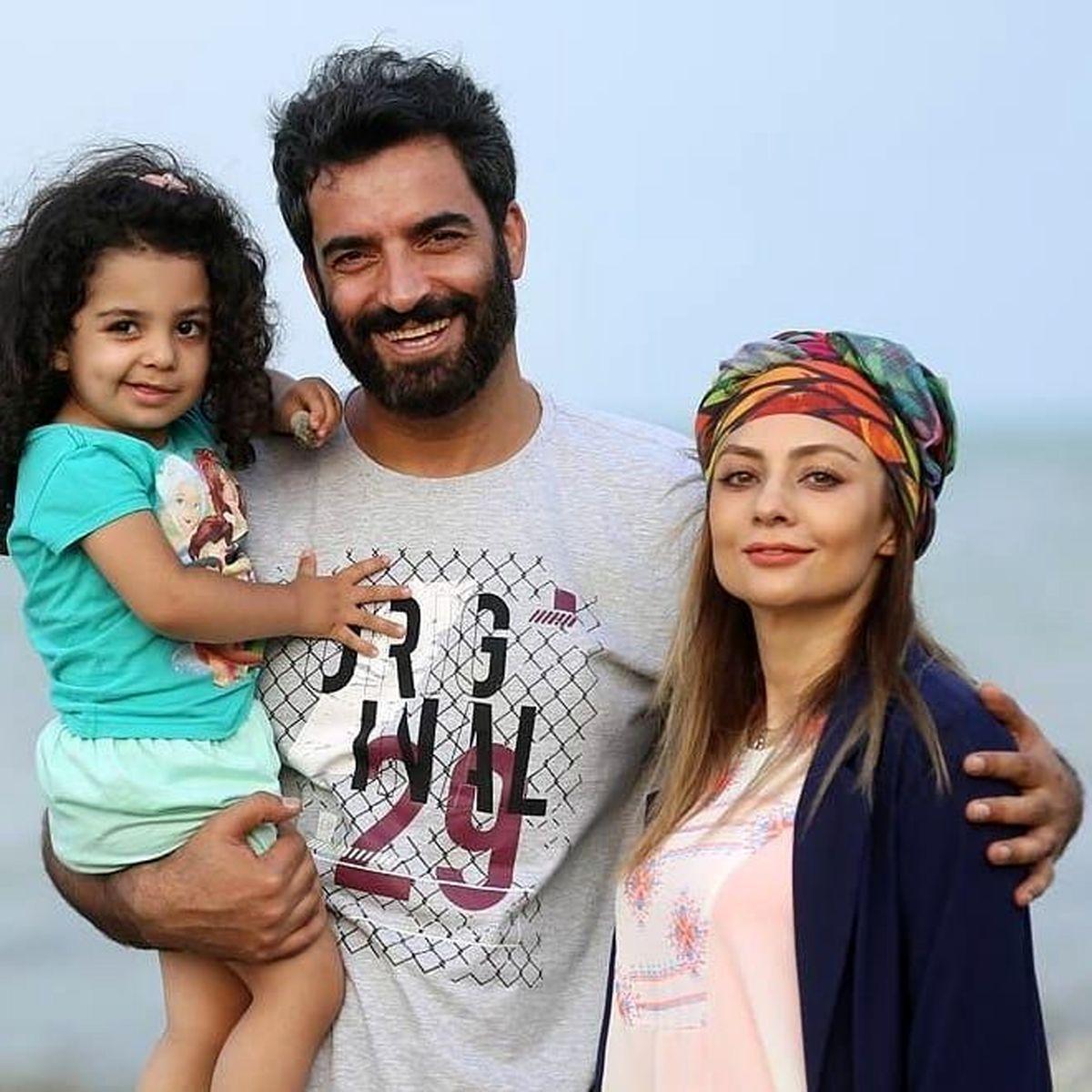 عکس خانوادگی یکتا ناصر همه را ترساند + عکس