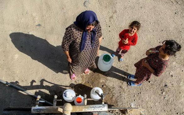 عکس/آبرسانی سیار به روستاهای دهگلان