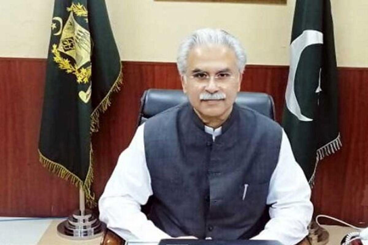 وزیر بهداشت پاکستان کرونا گرفت